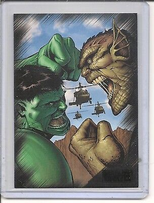 Marvel Heroes & Villains  P3  Promo card