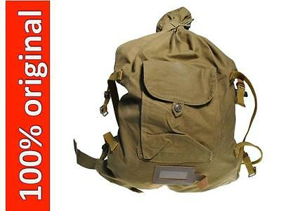 Genuine Soviet Russian Red Army Soldier Canvas Backpack Rucksack Veshmeshok USSR