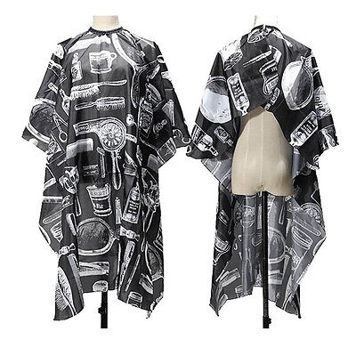 New Adult Salon Barbers Hairdresser Hairdressing Hair Cutting Cape Gown Clothes