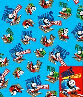 "2 Sheets of  ""THOMAS THE TANK AND FRIENDS"" Giftwrap & Tags"