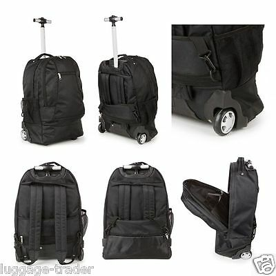 Small Cabin Approved Travel Trolley Backpack Luggage Suitcase Laptop Bag Case