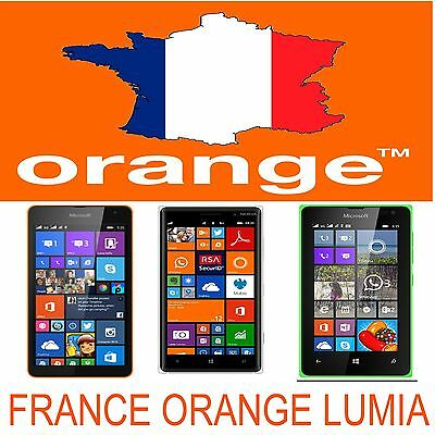 Lumia 520 510 610 620 710 820 920 925 1020 1320 1520 Unlock Code France Orange
