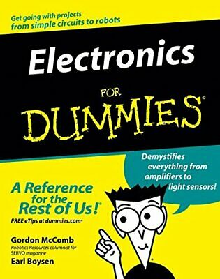 Electronics for Dummies - US Edition by Boysen, Earl Paperback Book The Cheap