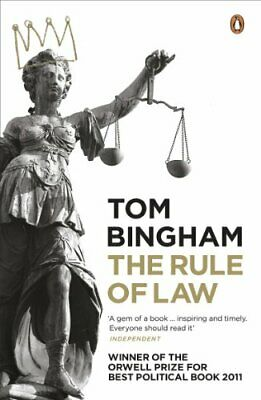 The Rule of Law by Bingham, Tom Paperback Book The Cheap Fast Free Post
