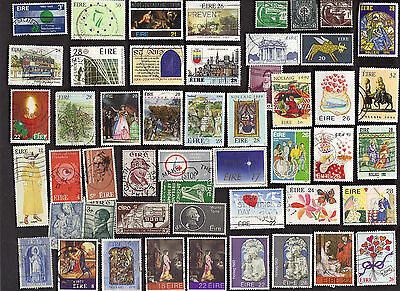 50 All Different IRELAND Pictorials & Commemorative Stamps *