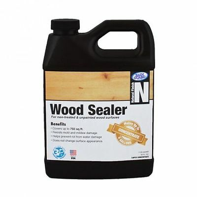Premium Grade WOOD SEALER Water Repellent Protection for Wood - (Makes 5 Gal)