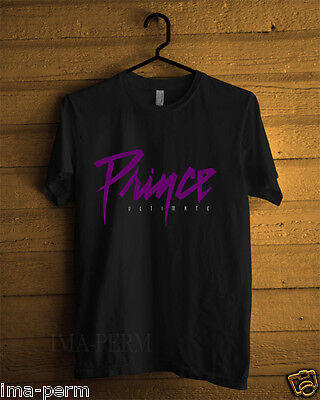 Prince Iltimate Black T-shirt for Man Size S-2XL #