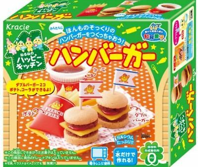 Kracie HAMBURGER Fast Food Popin' Cookin' Gummy Candy Making DIY Kit FREE SHIP