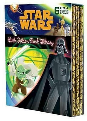 NEW The Star Wars Little Golden Book Library By Various Hardcover Free Shipping