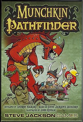 Munchkin Pathfinder role-playing card game A Steve Jackson Game fun exciting NEW