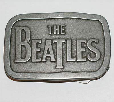 """THE BEATLES Pop Rock and Roll Band Logo UNISEX BELT BUCKLE 2-3/4"""" x 4-1/4"""" New"""