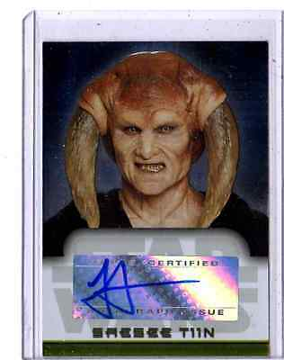 Star Wars Evolution Autograph Jesse Jensen