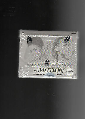 Woman of James Bond in Motion sealed Box