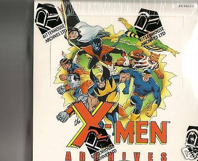 X-Men Archives sealed 12 Box case SKETCH IN EVERY BOX