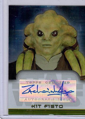 Star Wars Evolution Autograph Zachariah Jensen