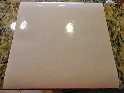 Glossy vinyl over-laminate - 10 Pack (12in x 12in sheets)