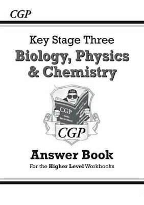 KS3 Science Answers for Workbooks (Bio/Chem/Phys), wit... by CGP Books Paperback