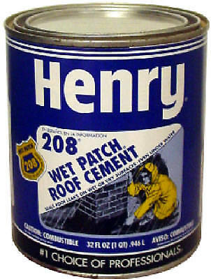Wet Patch Roof Cement and Patching Sealant-QT WET PATCH ROOF CEMENT