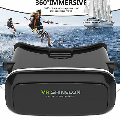 3D VR Virtual Reality Smart Glass Gears Headset for Samsung S7 iPhone 6 Plus LG