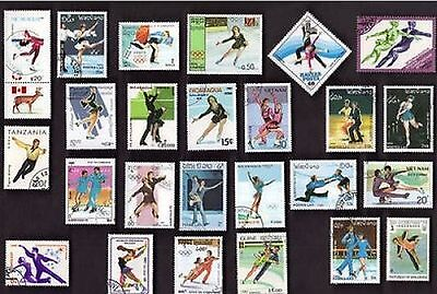 25 All Different FIGURE SKATING