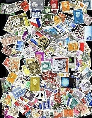 290 All Different Netherlands Stamps