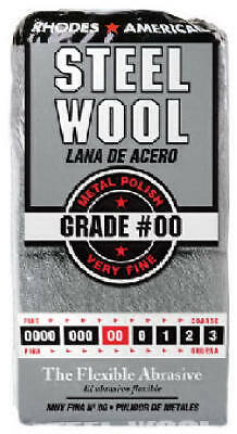 HOMAX PRODUCTS 12-Pack #00 Very Fine Steel Wool Pads