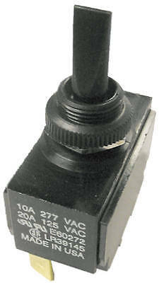 GARDNER BENDER INC Toggle Specialty Switch, Plastic, 20-Amp