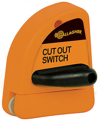GALLAGHER NORTH AMERICA Electric Fence Cut-Out Switch