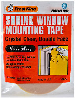 THERMWELL Indoor Insulation Mounting Tape, 1/2-In. x 54-Ft.