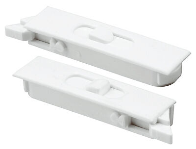 PRIME LINE PRODUCTS Pair White Vinyl Window Tilt Latch