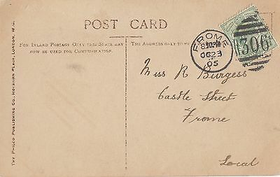 FROME : 1905 306  numeral cancellation on PPC