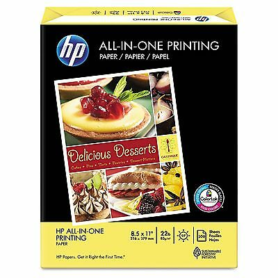 """HP All-In-One Paper 22lb, 96 Bright, 8-1/2 x 11"""" - Ream New"""