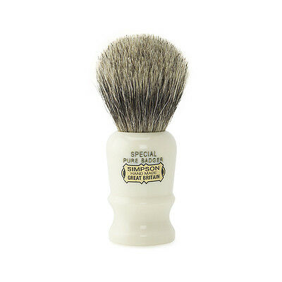 Simpsons Shaving Brush – Special S1 Pure Badger