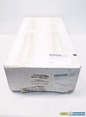 New Box Of 2 Enterprise Egb24-A 24In X 500Ft 3In Core Plotter Paper D539177