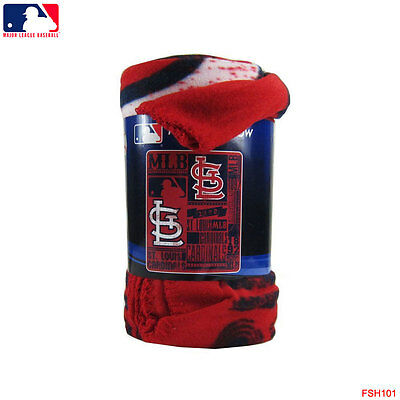 BRAND NEW MLB St Louis Cardinals Large Soft Fleece Throw Blanket 40 Best St Louis Cardinals Throw Blanket