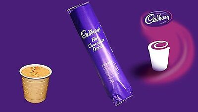 Incup Drinks for Vending Machines 73mm Cadbury BEST PRICE ON EBAY!