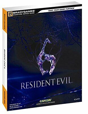Resident Evil 6 Signature Series Guide by BradyGames Book The Cheap Fast Free