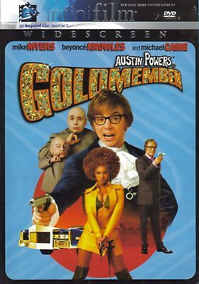 Austin Powers in Goldmember. Widescreen Version. DVD. Mike Myers.