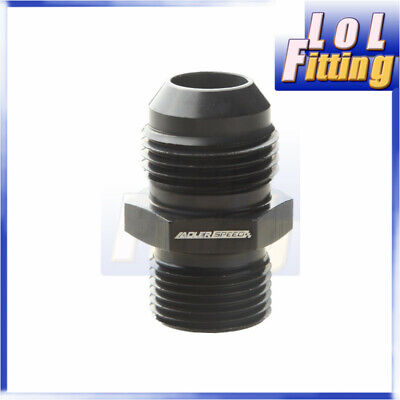 Male -10 AN 10AN AN10 AN 10 Flare To M20x1.5 Metric Straight Fitting Black