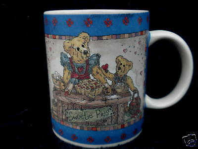 Coffee Mug Boyds Bears Collection Teddy Bears 1998 Sweetie Pies Love & Laughter