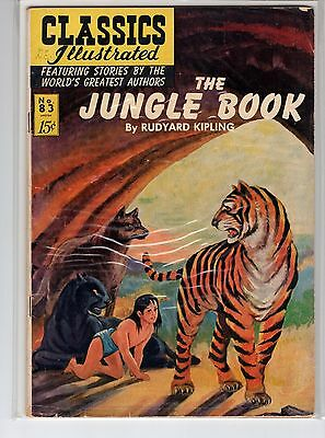 Classics Illustrated #83 HRN 85 (Original) VGFN Blum The Jungle Book