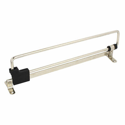 Wardrobe Cupboard Top Mounted Pull out Retractable Rail Close Hanger 250mm Long