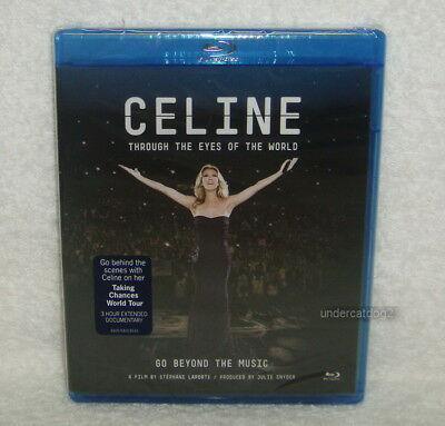 Celine Dion Through the Eyes of World Taiwan Blu-ray (BD)