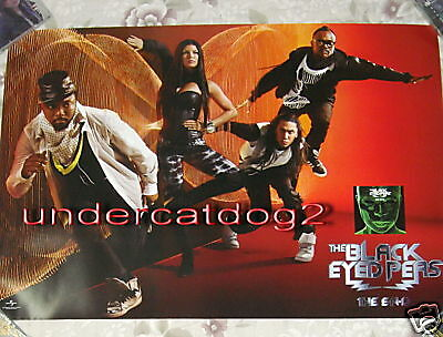 the Black Eyed Peas E.N.D end 2009 Taiwan Promo Poster