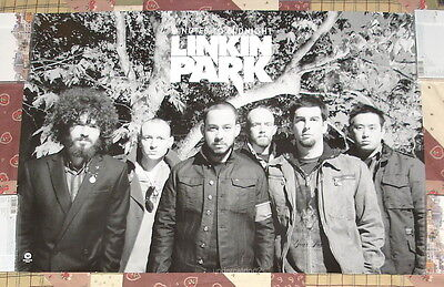 Linkin Park Minutes To Midnight Taiwan Promo Poster
