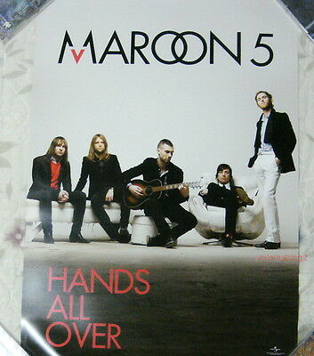 Maroon 5 Hands All Over 2010 Taiwan Promo Poster