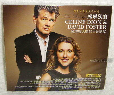 The Best Of Celine Dion & David Foster Taiwan CD w/BOX