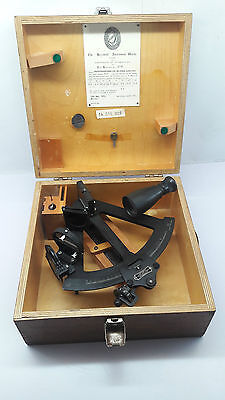 Hezzanith observatory vintage sextant 72156 london 1972