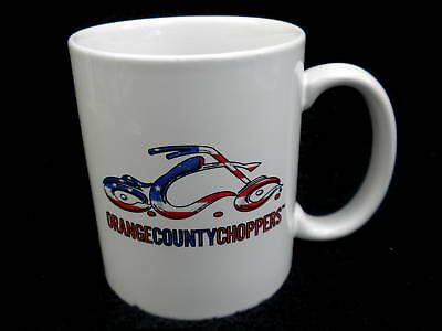 Coffee Mug Orange County Choppers Motorcycle 2006 America Tour Promo Ad Ceramic