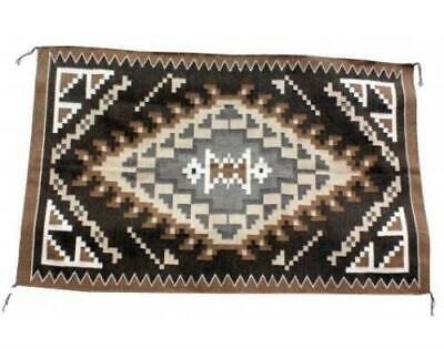 Charlene Begay, Two Gery Hills Rug, Navajo Handwoven, 38 in x 61 in